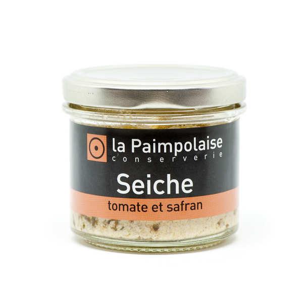 Rillettes de seiche à la tomate et au safran