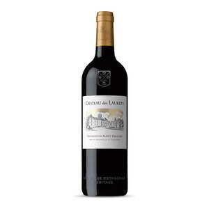 Château des Laurets - Chateau des Laurets - Puisseguin Saint-Emilion Bordeaux Red Wine