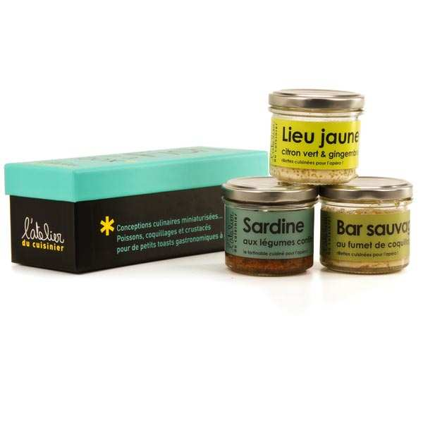 "Coffret ""Fish in a box"" - L'Atelier du Cuisinier"