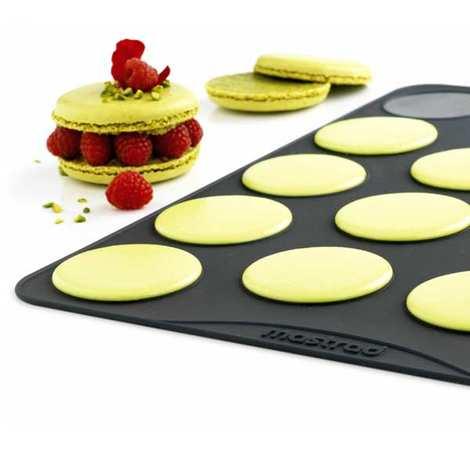 Mastrad - Feuilles cuisson à macarons classiques en silicone Mastrad (3.8 cm)