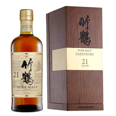 Whisky Nikka - Nikka Taketsuru pure malt whisky - 21 ans d'âge 43%