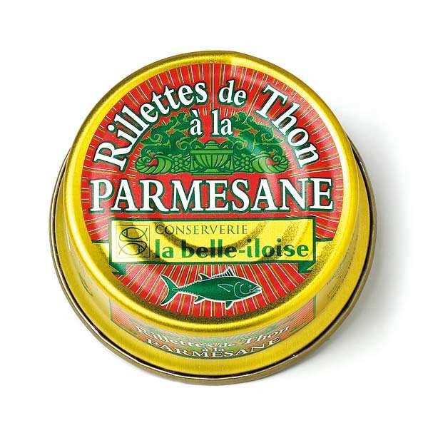 Rillettes de Thon à la Parmesane