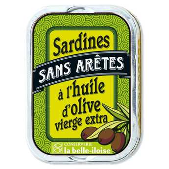 Conserverie La Belle Iloise - Sardines in Extra Virgin Olive Oil