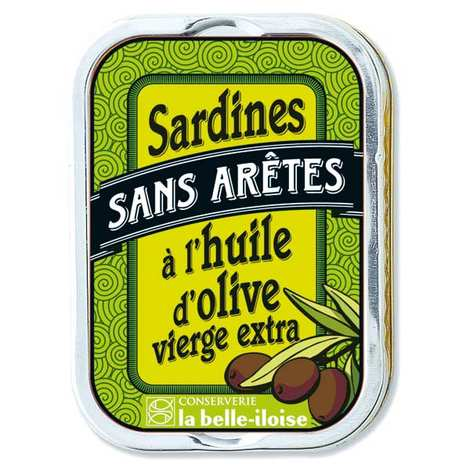 Conserverie La Belle Iloise - Sardines without Bones in Extra Virgin Olive Oil