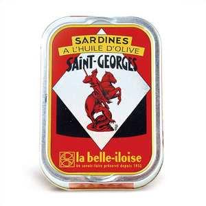 Conserverie La Belle Iloise - Sardines Saint-Georges in olive oil