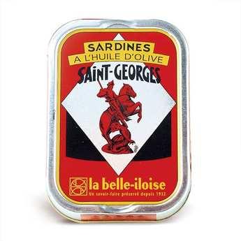 Conserverie La Belle Iloise - Sardines Saint-Georges à l'huile d'olive