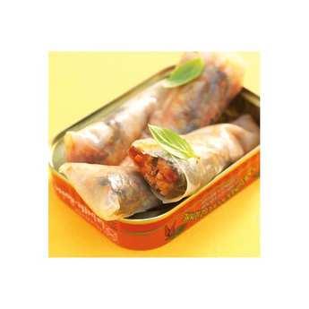 Conserverie La Belle Iloise - Luzienne Sardines with ham and Espelette chilli
