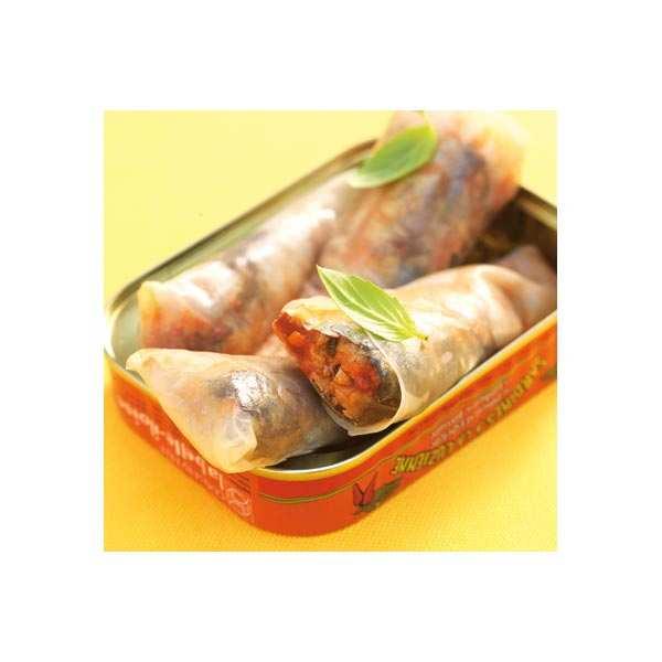 Luzienne Sardines with ham and Espelette chilli