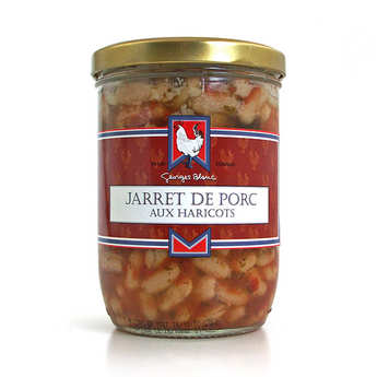 Georges Blanc - Jarret de porc aux haricots lingots