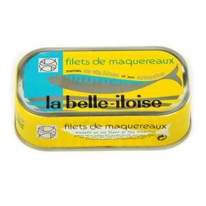 Conserverie La Belle Iloise - Filets de maquereaux marinés - vin blanc et aromates - 118g