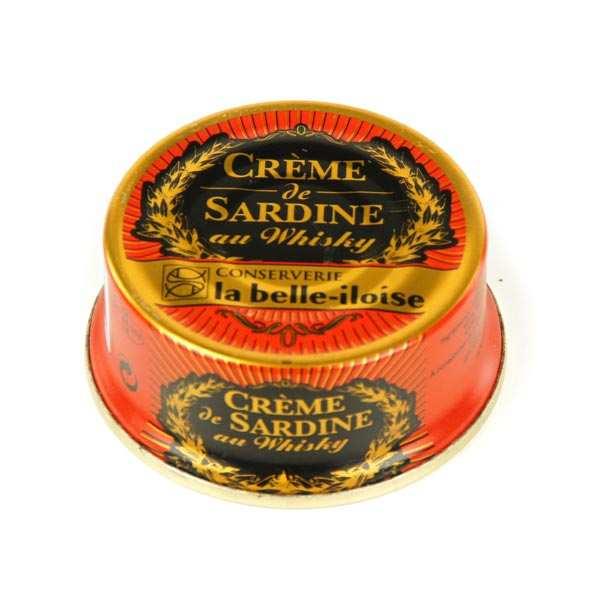 Crème de sardine with whisky